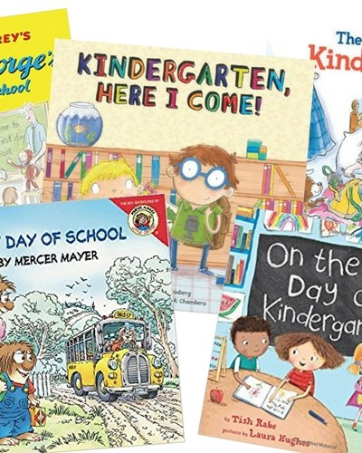 5 Great Books For The First Day Of Kindergarten