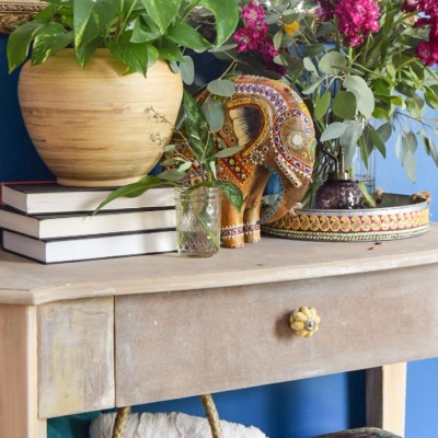 How I Created a Bohemian Weathered Finish…by accident!
