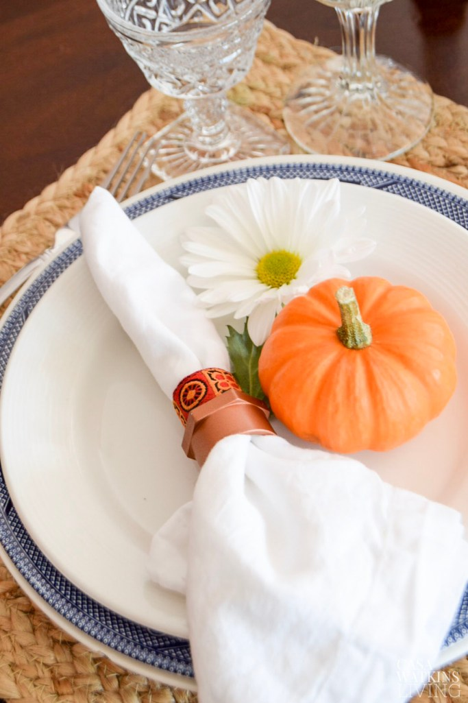 diy african inspired napkin rings from pvc pipe