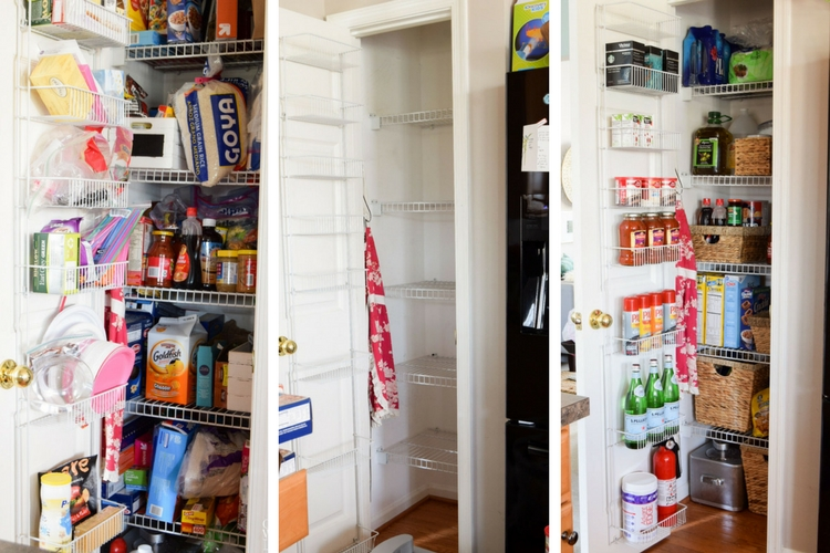 Kitchen Pantry Makeover and Organization Ideas