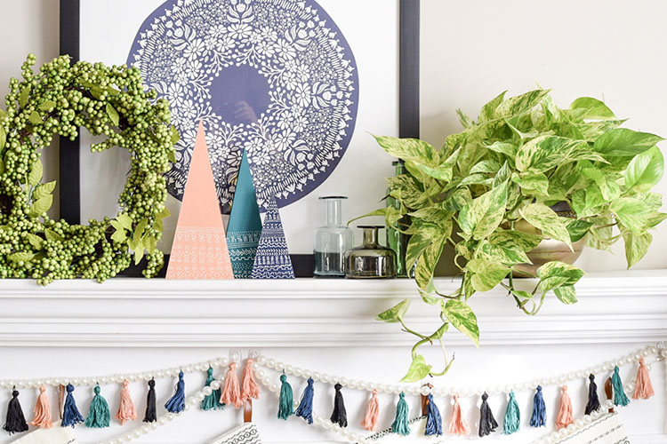 5 Tips For A Global Style Boho Chic Mantel