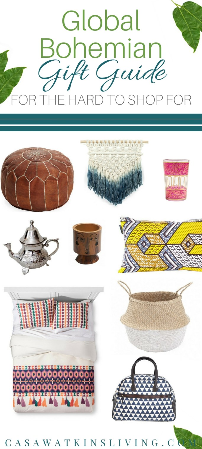 20 global bohemian gifts for the hard to shop for.