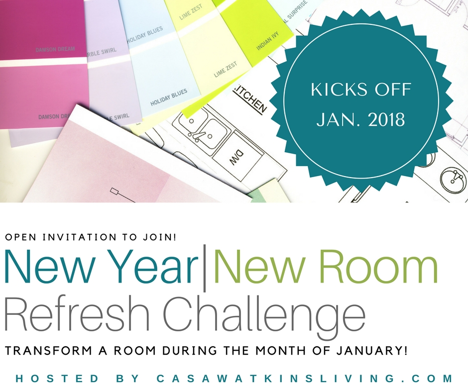 New Year New Room Refresh Challenge