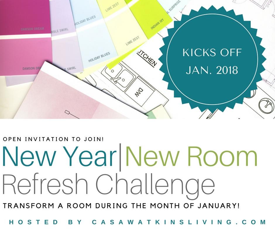 New Year New Room Refresh Challenge