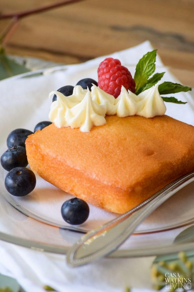 Semi-homemade pound cake recipe