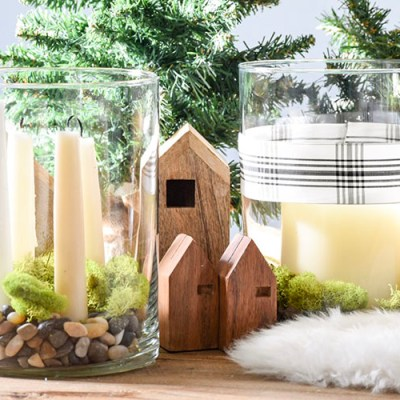 Simple Scandinavian Centerpieces Two Ways