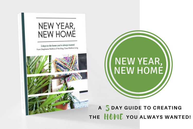 My NEW YEAR NEW HOME ebook and FREE room makeover planner!