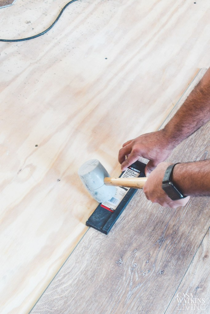 How To Install Luxury Vinyl Plank Flooring Quick And