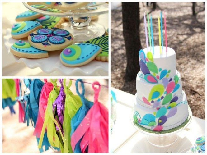 Fiestas Infantiles Decoracion Ideas Colores Vibrantes