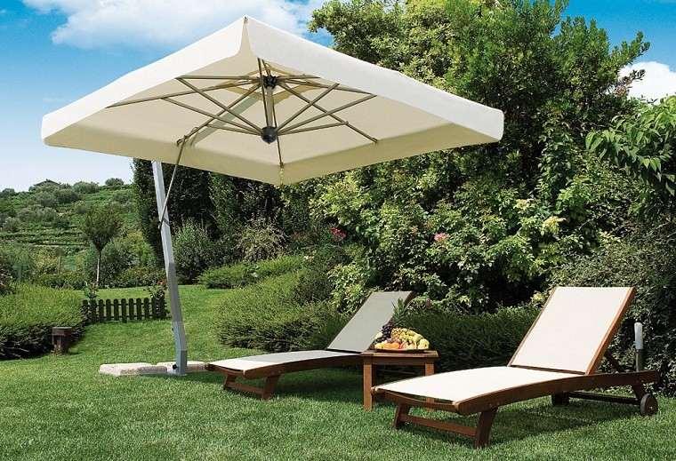parasoles jardin sombras refrescantes