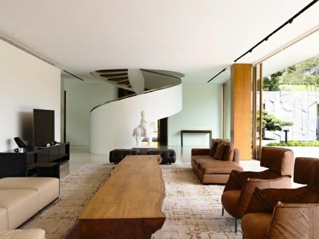 Casas modernas - 50 ideas para decorar interiores on Interiores De Casas Modernas  id=20797