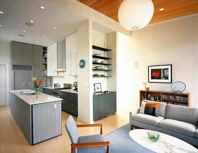 Casas modernas - 50 ideas para decorar interiores on Interiores De Casas Modernas  id=18272