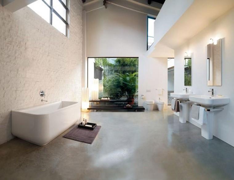 diseño estilo minimalista baño