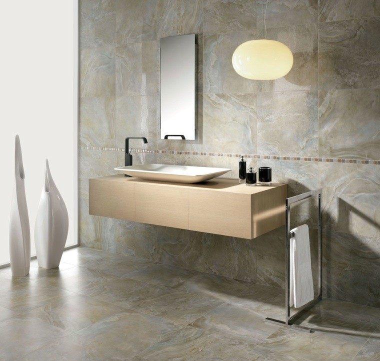 pared suelo marmol lavabo