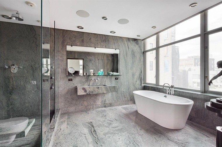 revestimiento paredes marmol suelo