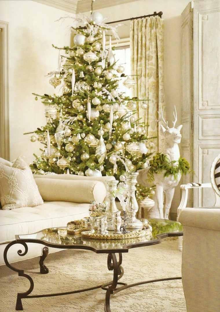 Yellow Ornaments Living Room