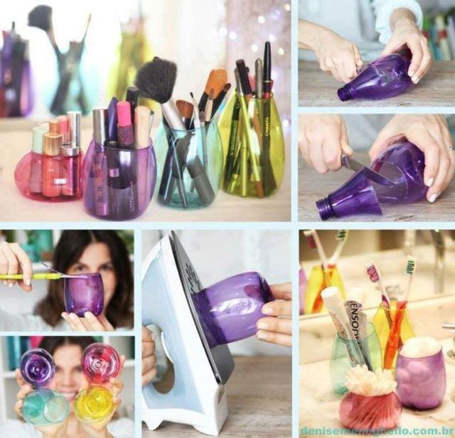 botes colores para maquillaje pinturas