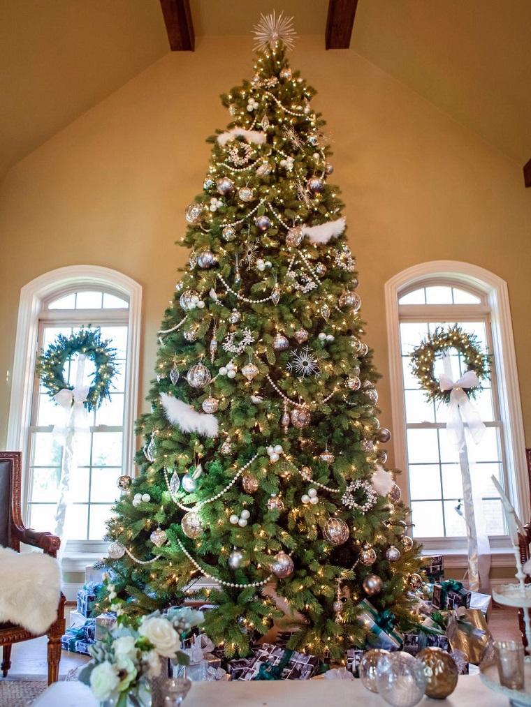 Decoracion Navidad Brillante En 50 Ideas Que Impresionan
