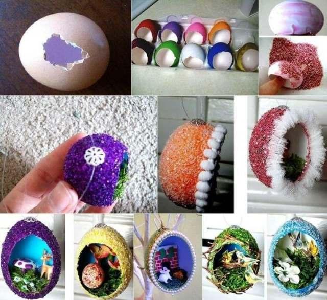 etupenda manualidad cascara huevo rota