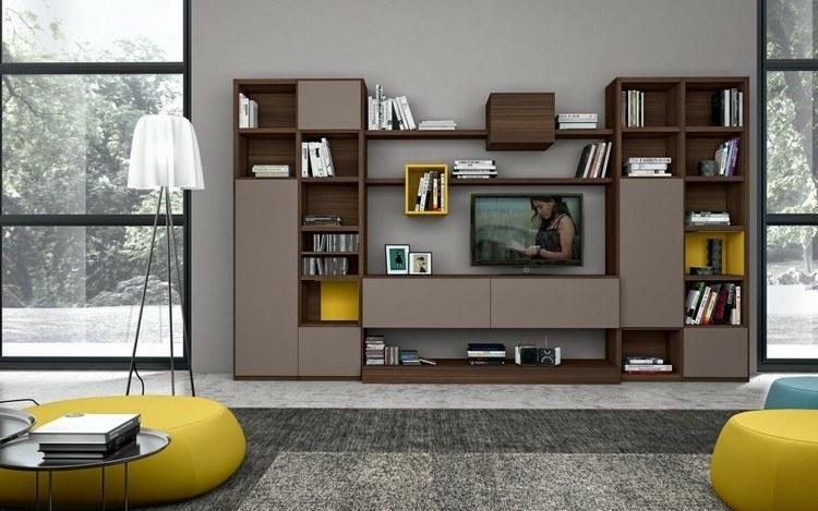 estanterias modulares para salones