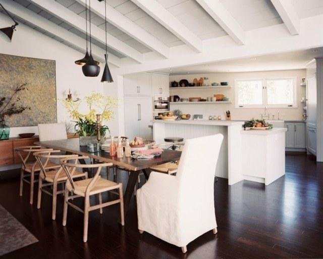 çekici açık küpe çiçekli mutfaklar