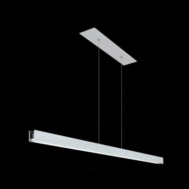aydınlatma fikirleri doğrusal cam metal