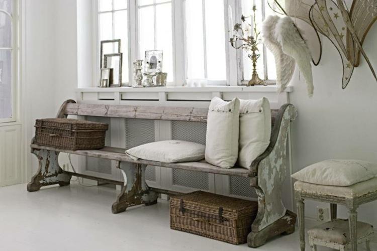 adornos recibidores con encanto estilo vintage