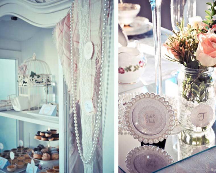 decoración adornos estilo vintage
