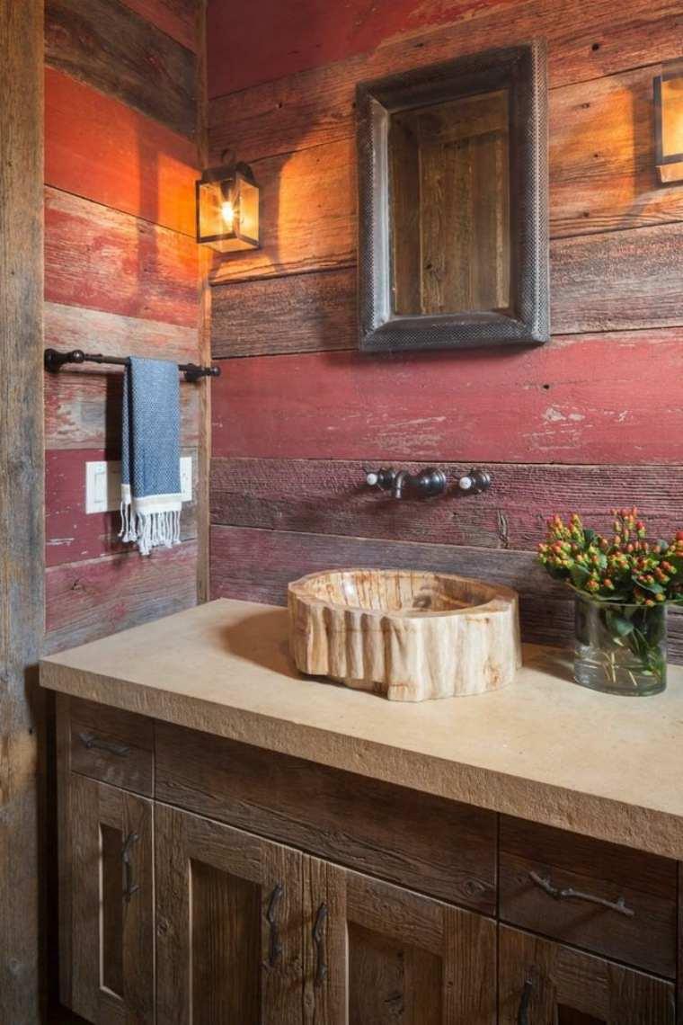 Lavabos rústicos ideas para cada tipo de baño on Rustic:s9Dkpzirpk8= Farmhouse Bathroom  id=55247