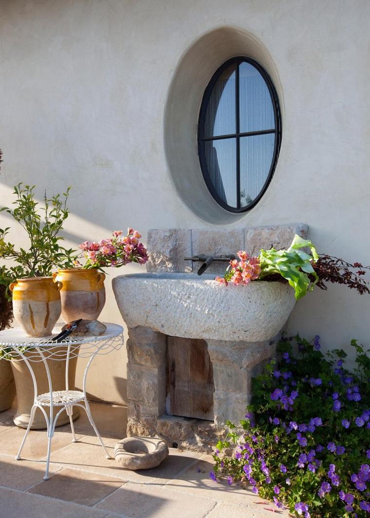 Jardines Rusticos Ideas Para Elementos Decorativos