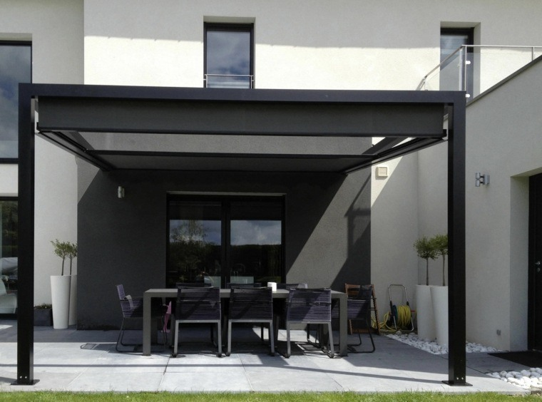 Pergolas De Aluminio O Madera 60 Ideas Modernas