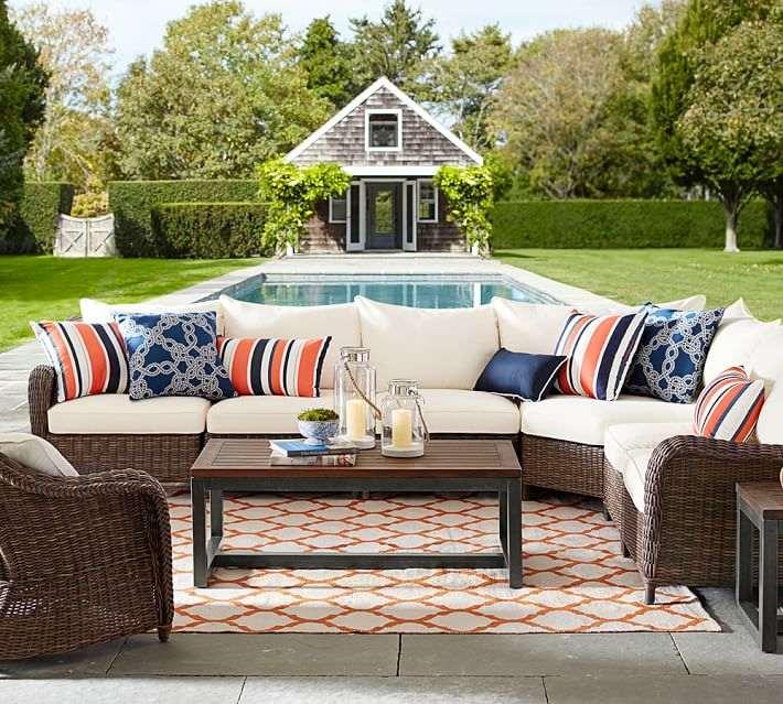 muebles jardin rattan finest exterior de mimbre la rota muebles de exterior baratos - Sofas De Jardin Baratos