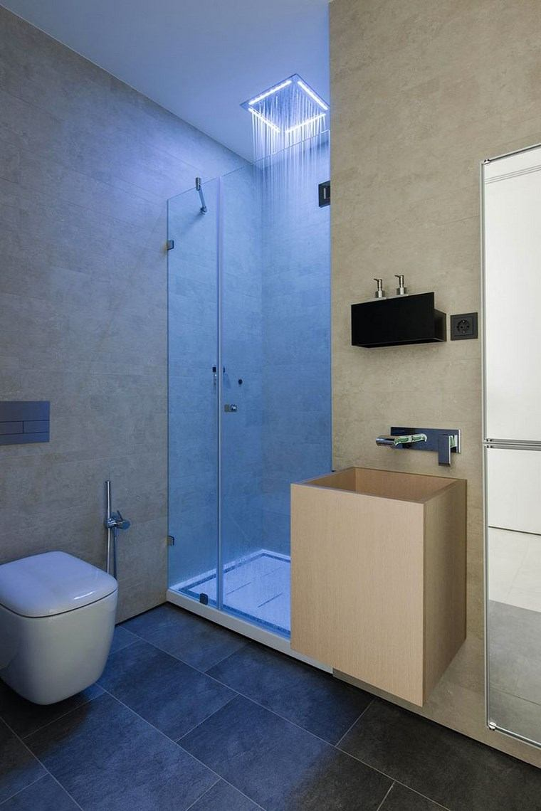 Iluminaci n y ba os for Apliques para ducha