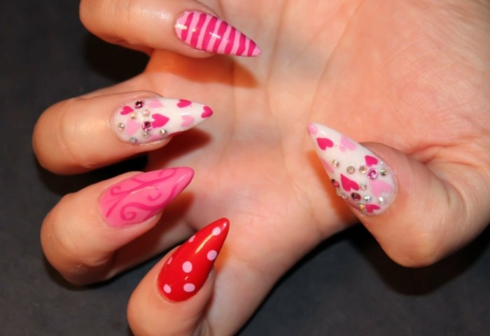 Best Imagenes De Uñas Para San Valentin Image Collection