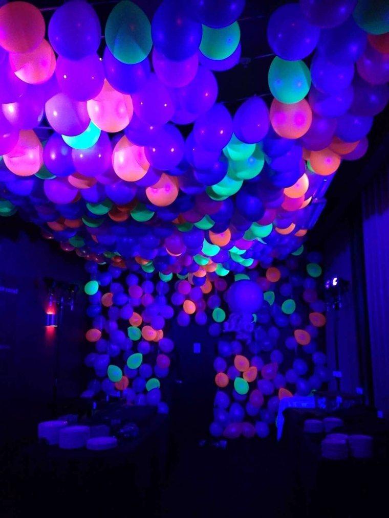 Ideas De Decoracin Fluorescente Para Tu Fiesta De