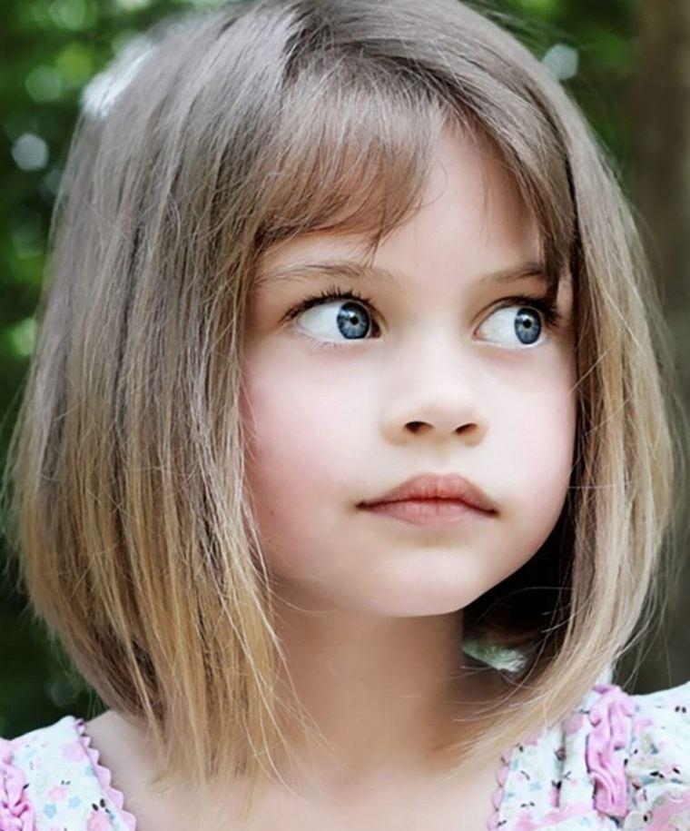 Aunque lo más cómodo para una niña es llevar el pelo con media melena, también podemos decantarnos por un corte de pelo largo o un corte de. Cortes De Pelo De Nina Modernos Para Probar En 2021