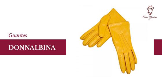 guantes de piel donnalbina