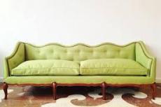 should reupholster an old antique sofa