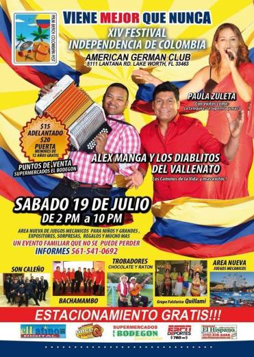 Festival Colombiano WPB 2014  2