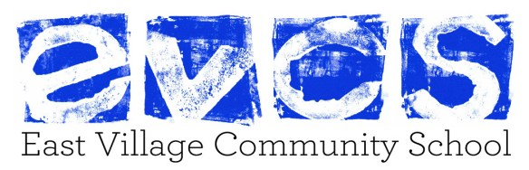 evcs line up logo with text