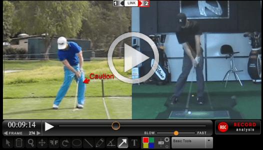 David Lingmerth golf swing