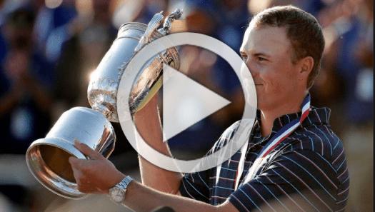 Jordan Spieth U.S. Open Champion