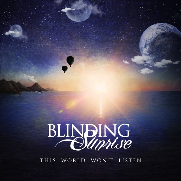 Blinding Sunrise cd cover