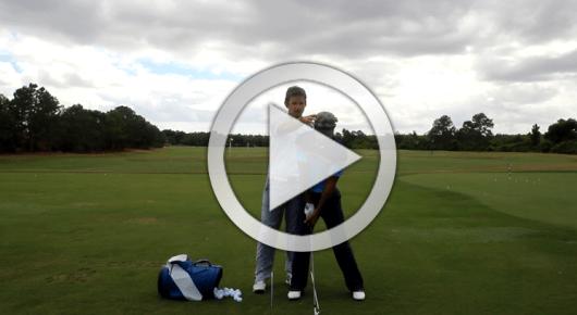 golf swing lesson