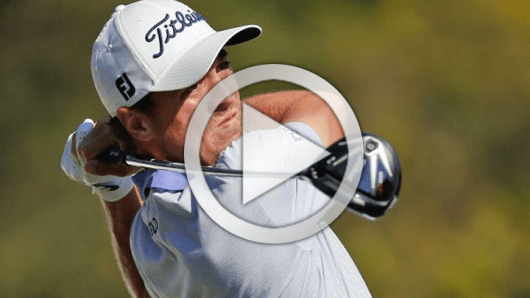 justin thomas golf swing