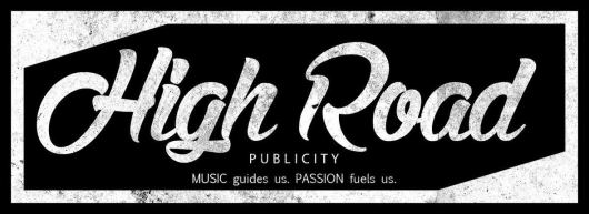 High Road Publicity - White Lettering
