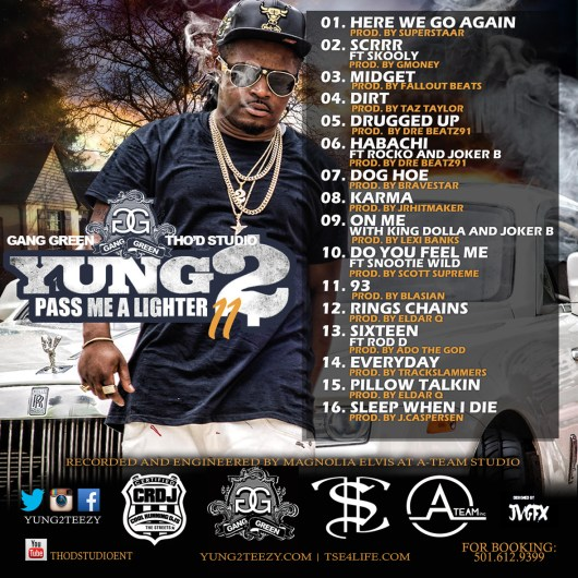 Yung2 - Pass Me My Lighter 2 Back Cover
