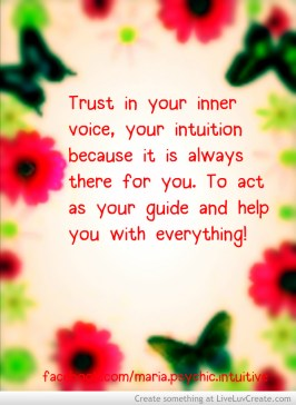 always trust your inner voice-673501