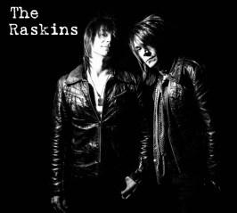 Raskins promo black with font