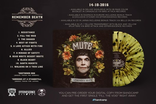 MUTE - Remember Death Track Listing